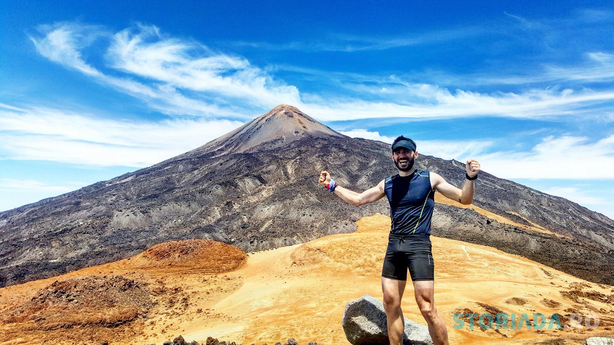 Alergare pe El Teide, Tenerife