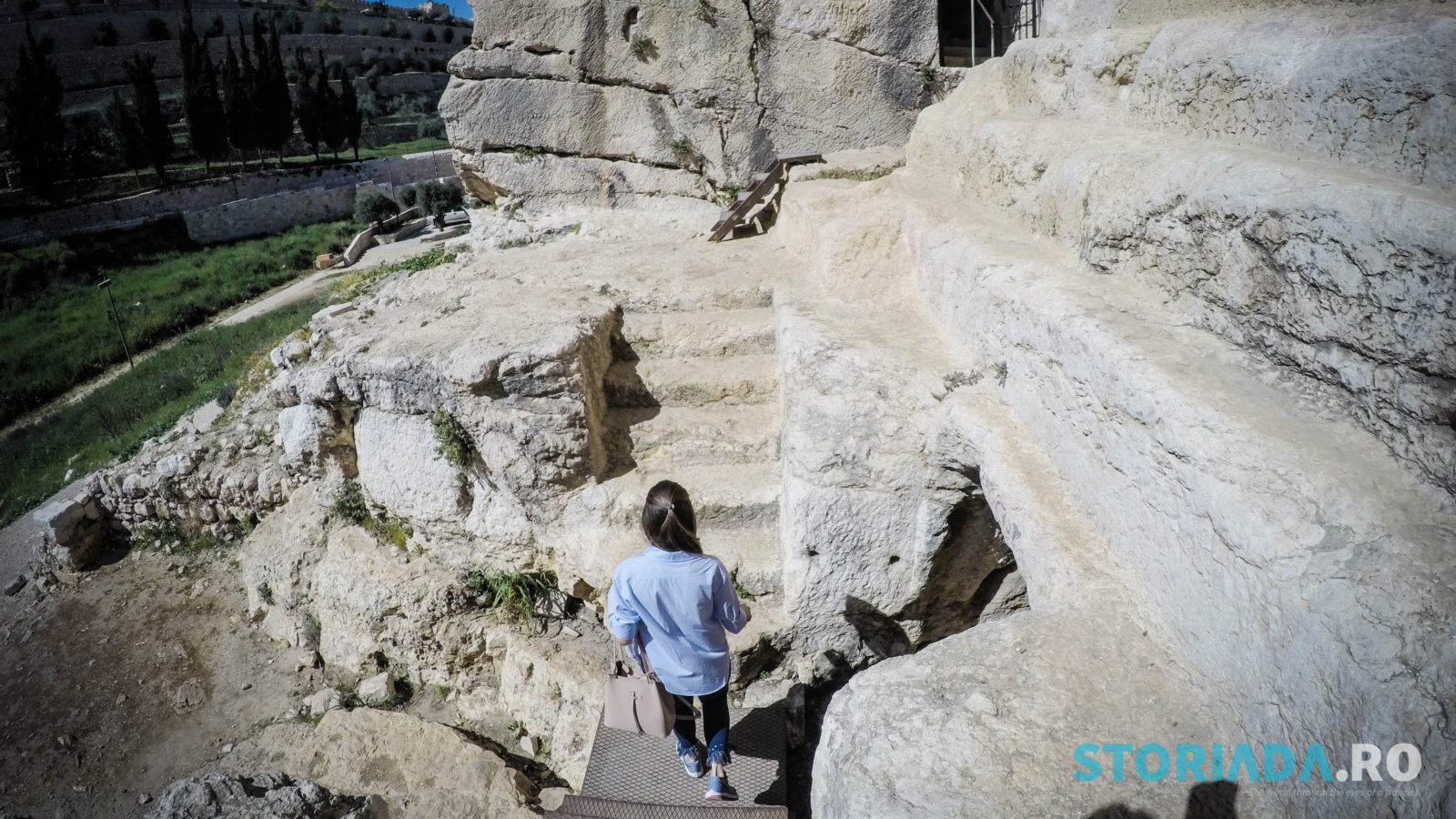 Zechariah's Tomb, Itinerar calatorie Ierusalim