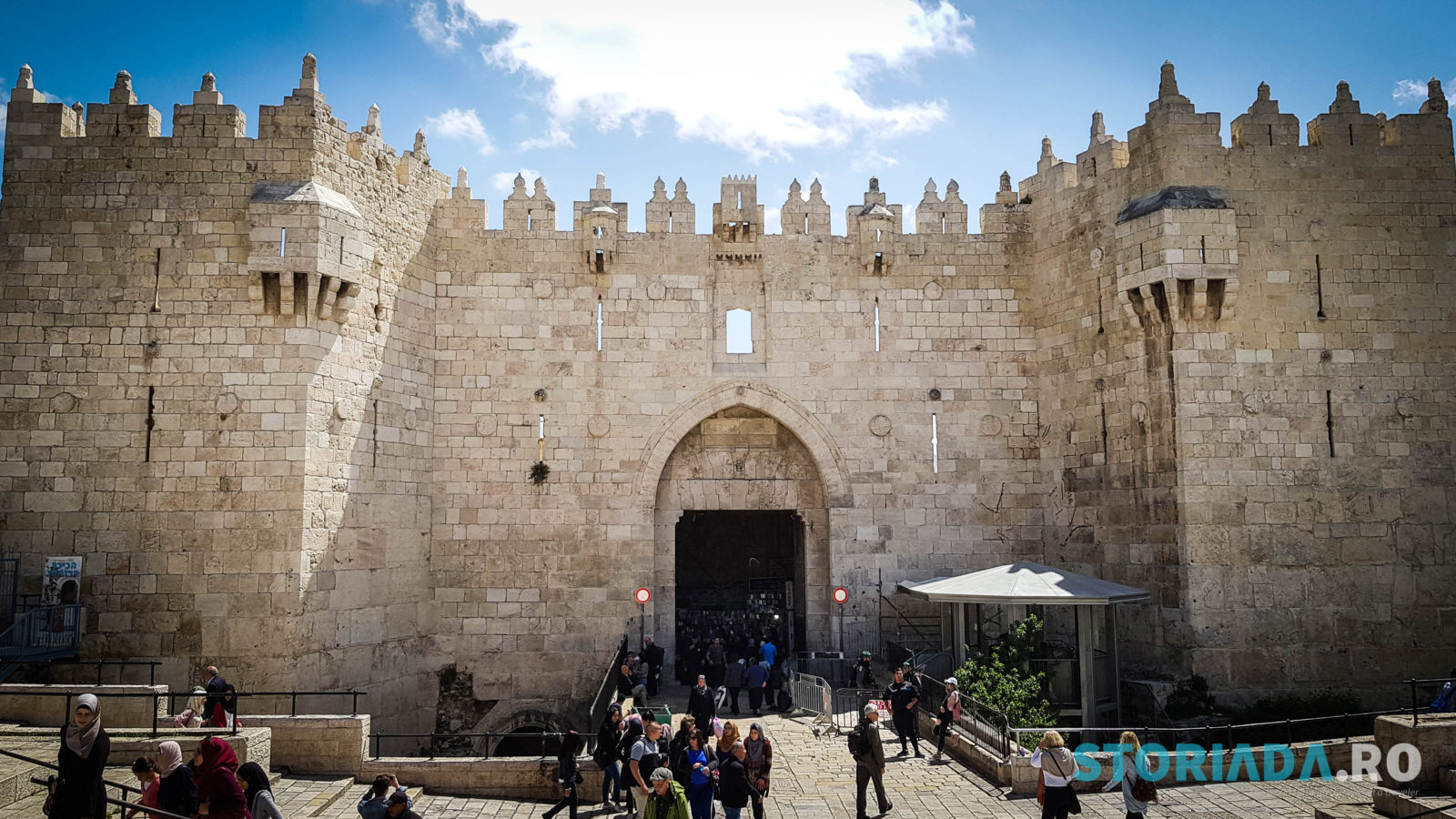 Damascus Gate, Itinerar calatorie Ierusalim