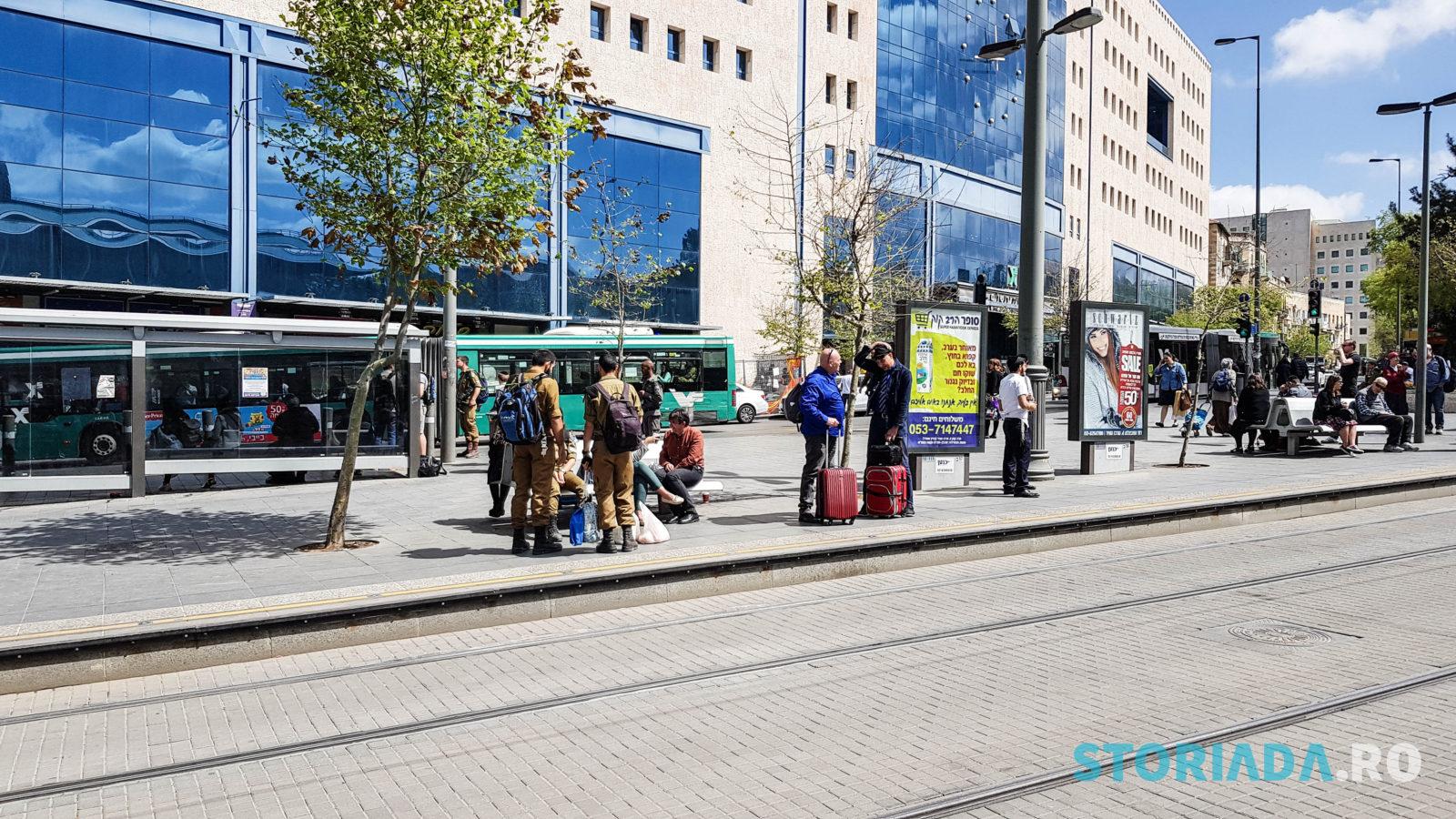 Jerusalem Central Bus Station, Itinerar calatorie Ierusalim