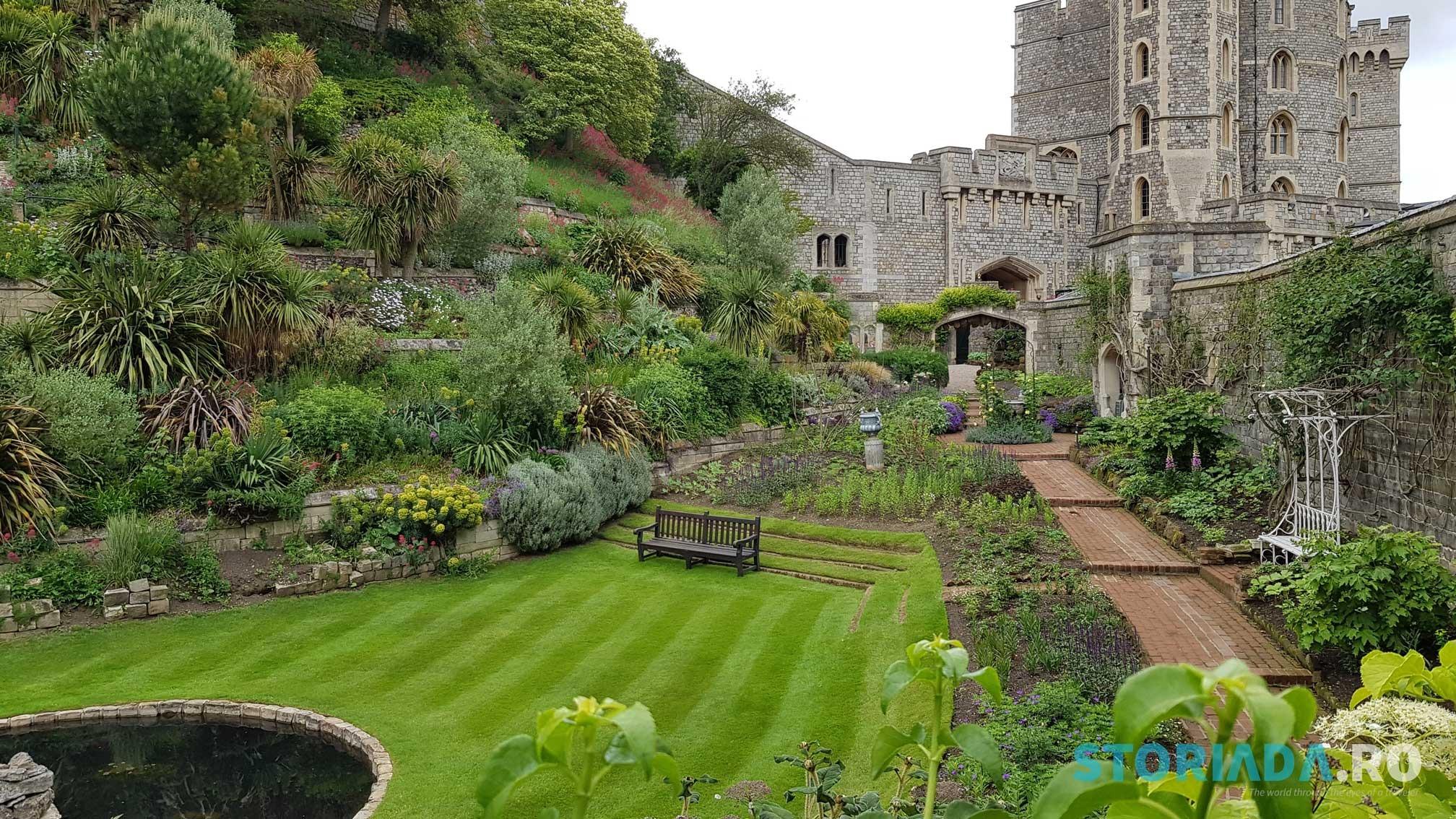 Grădina reginei, Castelul Windsor, Marea Britanie