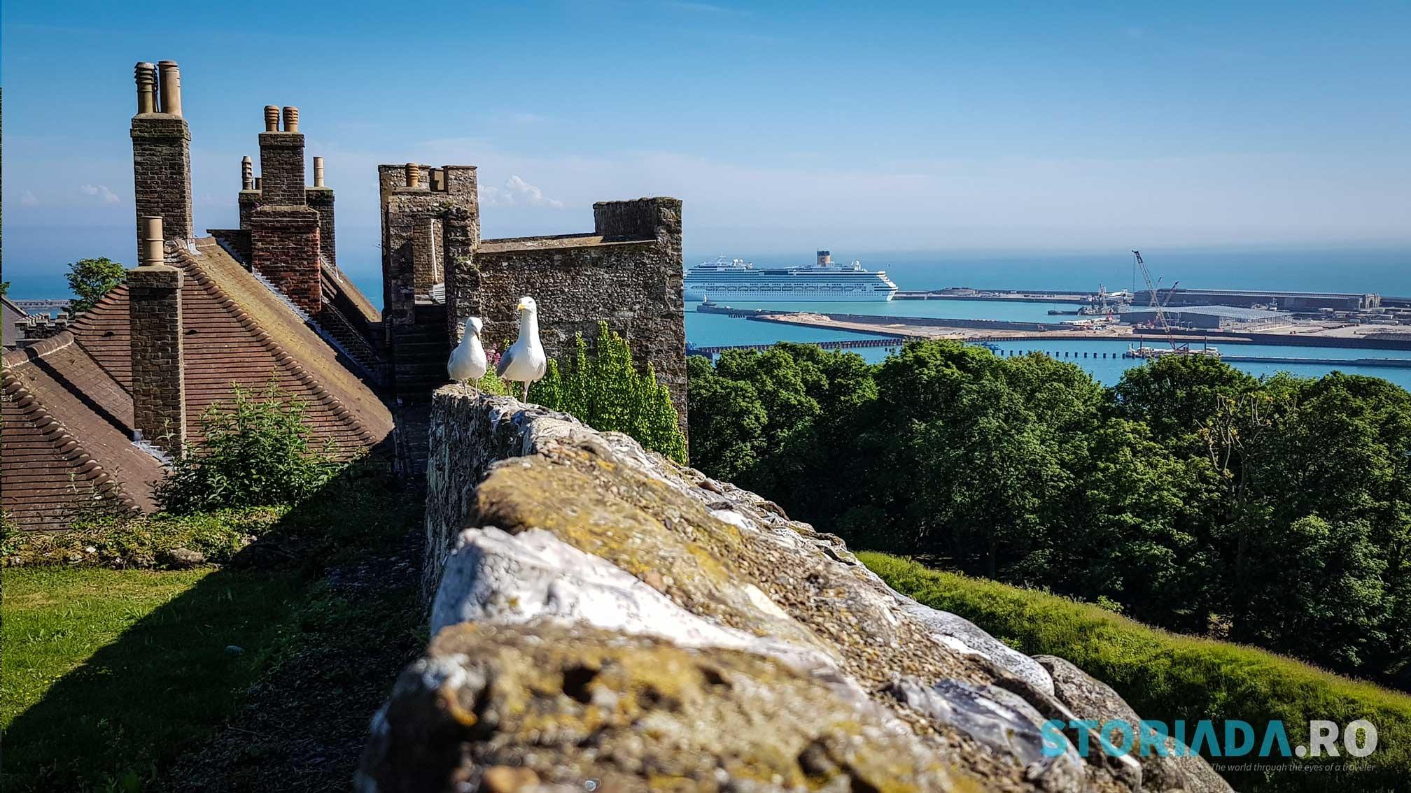 View din Castelul Dover