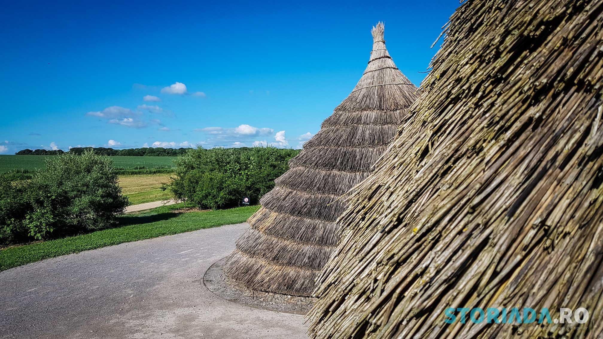 Presupusele case ale celor care au construit Stonehenge