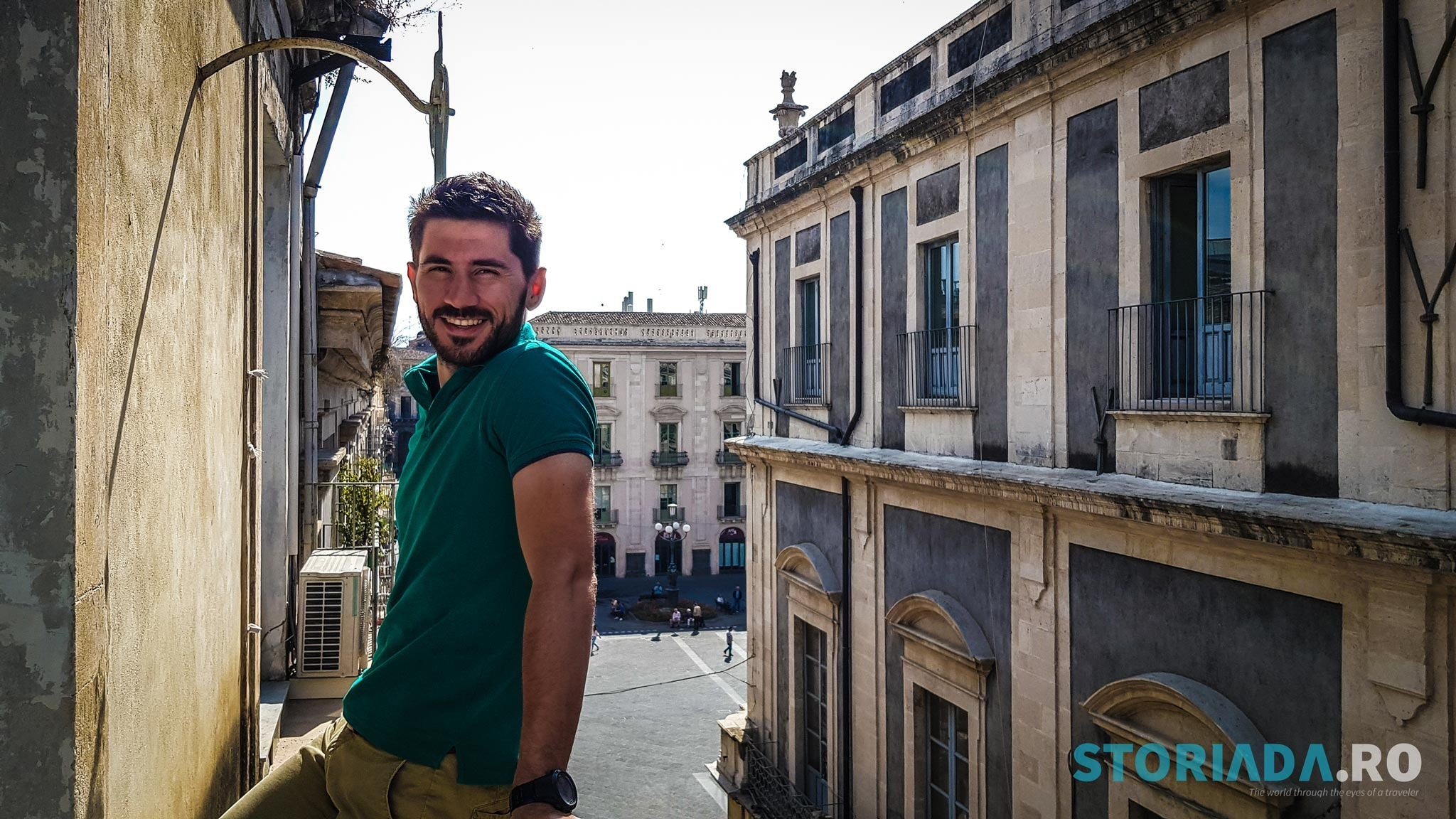 Piazza Universita, Sicilia, Italia