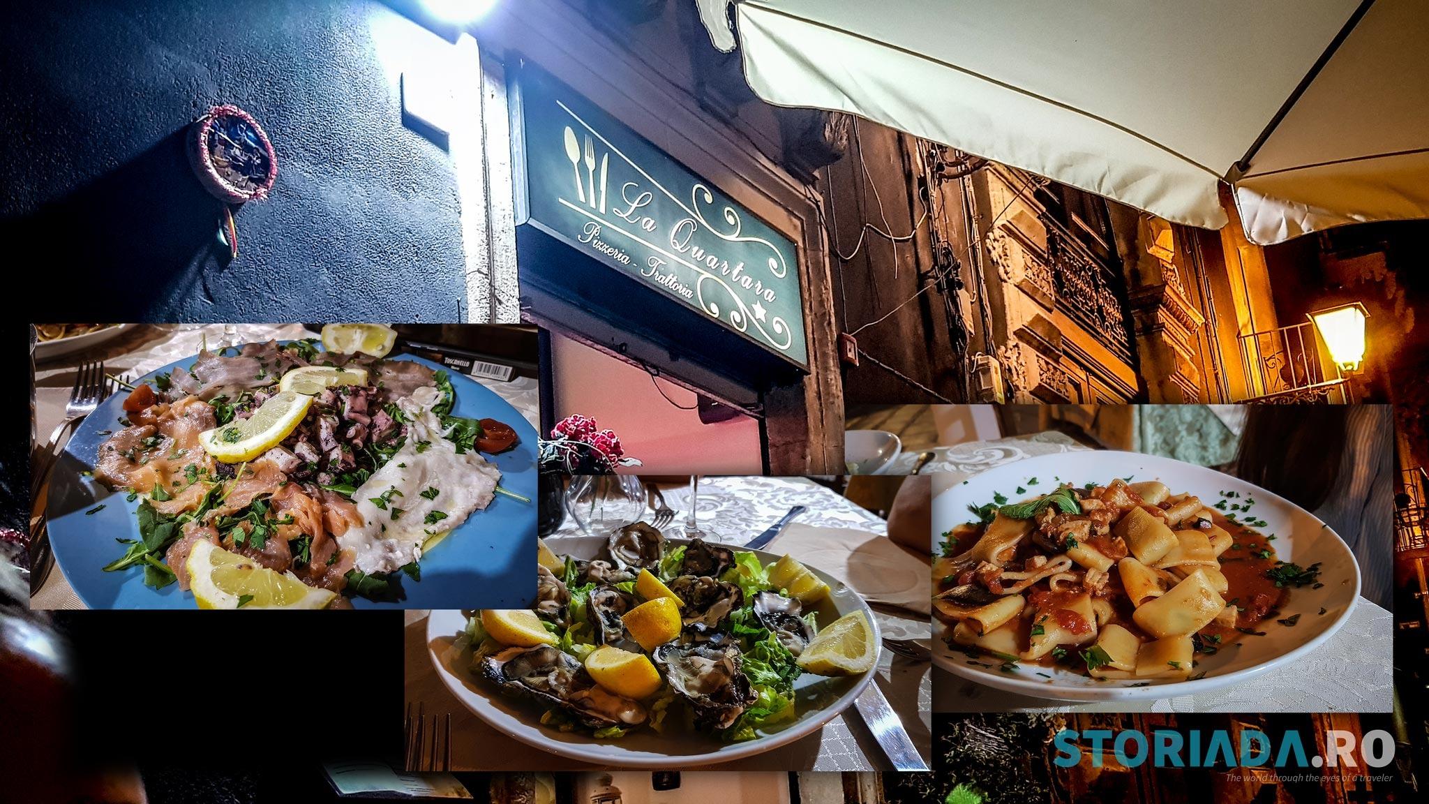 La Quartara, Catania (călătorie în bucătăria siciliană)