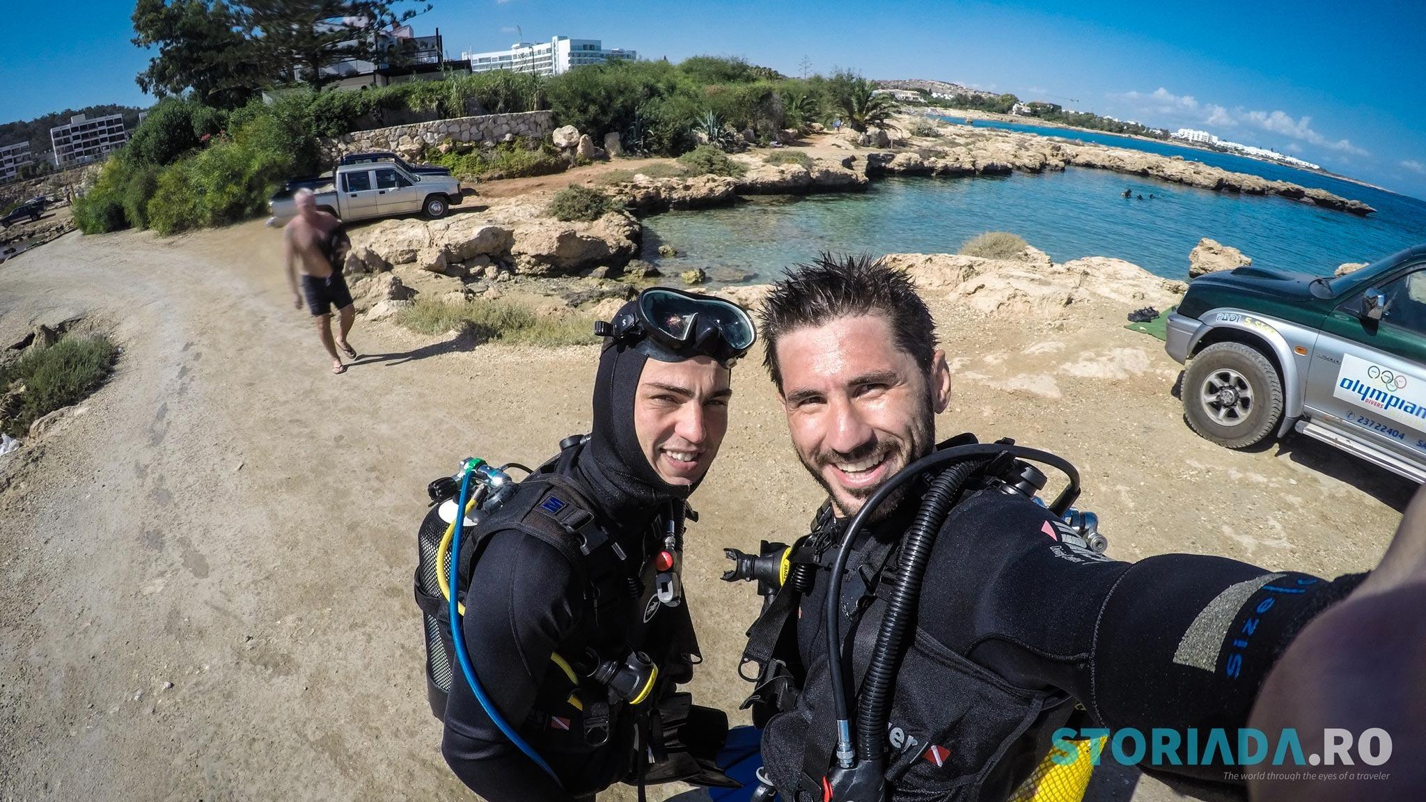 Scuba diving, Cipru, Green Bay