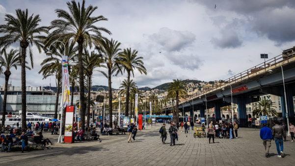 Esplanada Genova (Italy)
