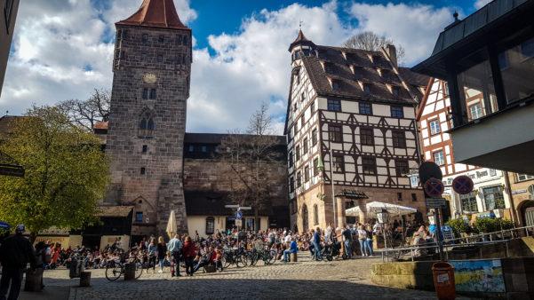 Zumzetul străzilor Nuremberg (Germania)