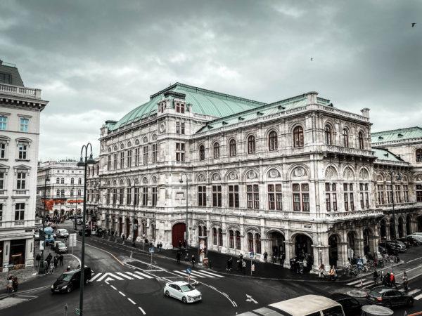 Perspectivă din inima Vienei, Austria