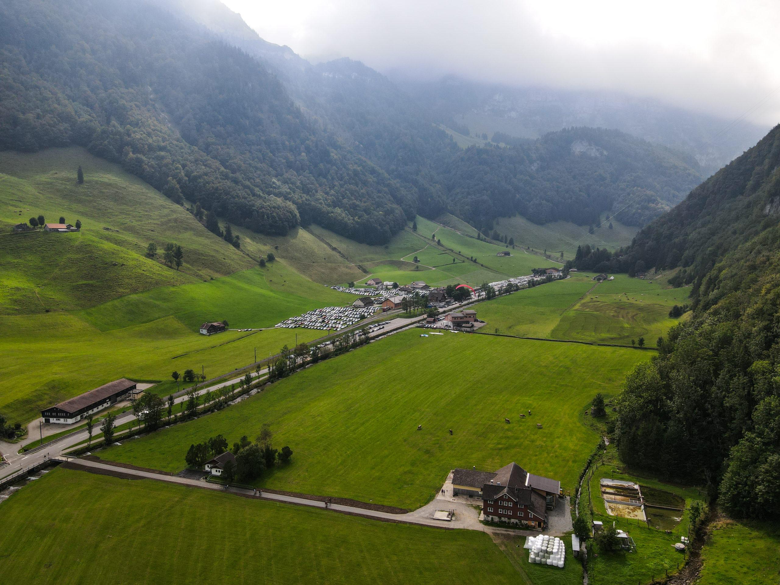 Alpstein, Wasserauen