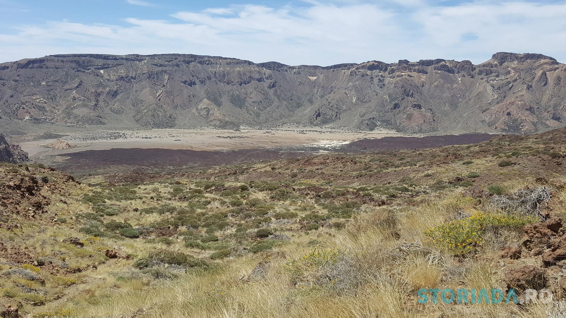 View-ul canionului catre El Teide
