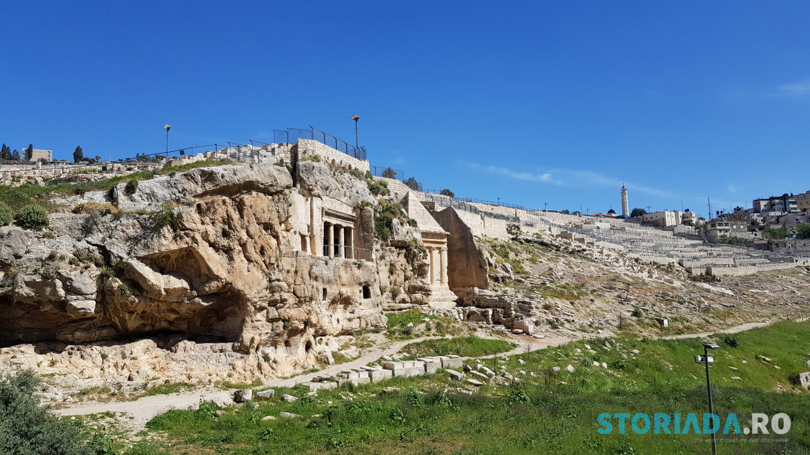 Valley of Jehoshaphat, Itinerar calatorie Ierusalim