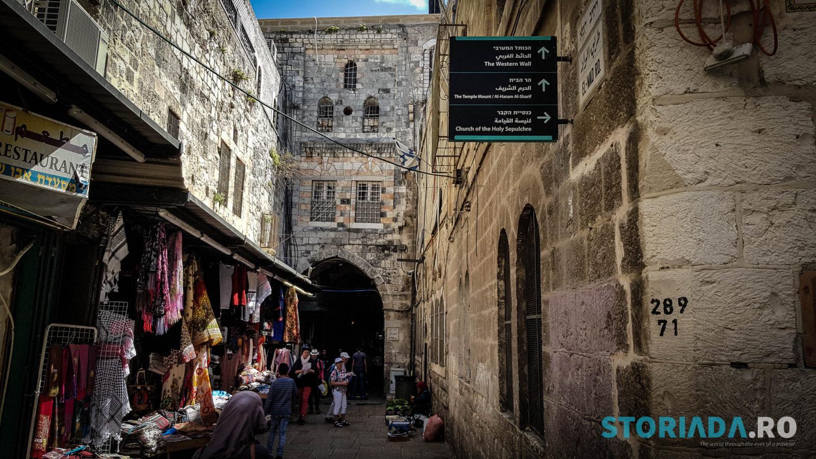 Itinerar ierusalim, Itinerar calatorie Ierusalim
