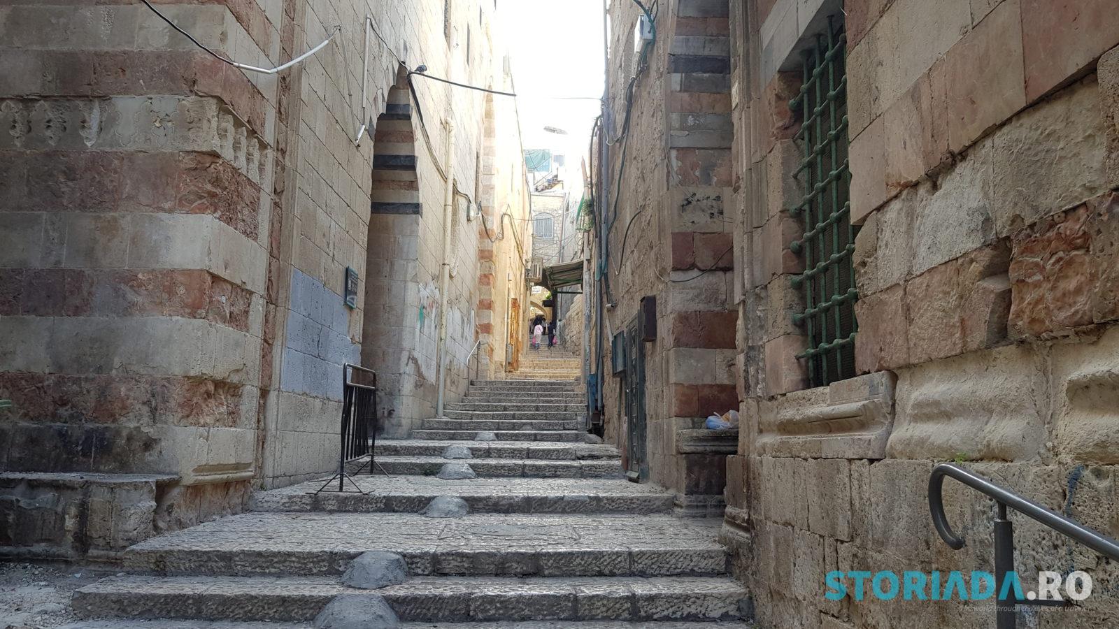 Jerusalem old city, Itinerar calatorie Ierusalim