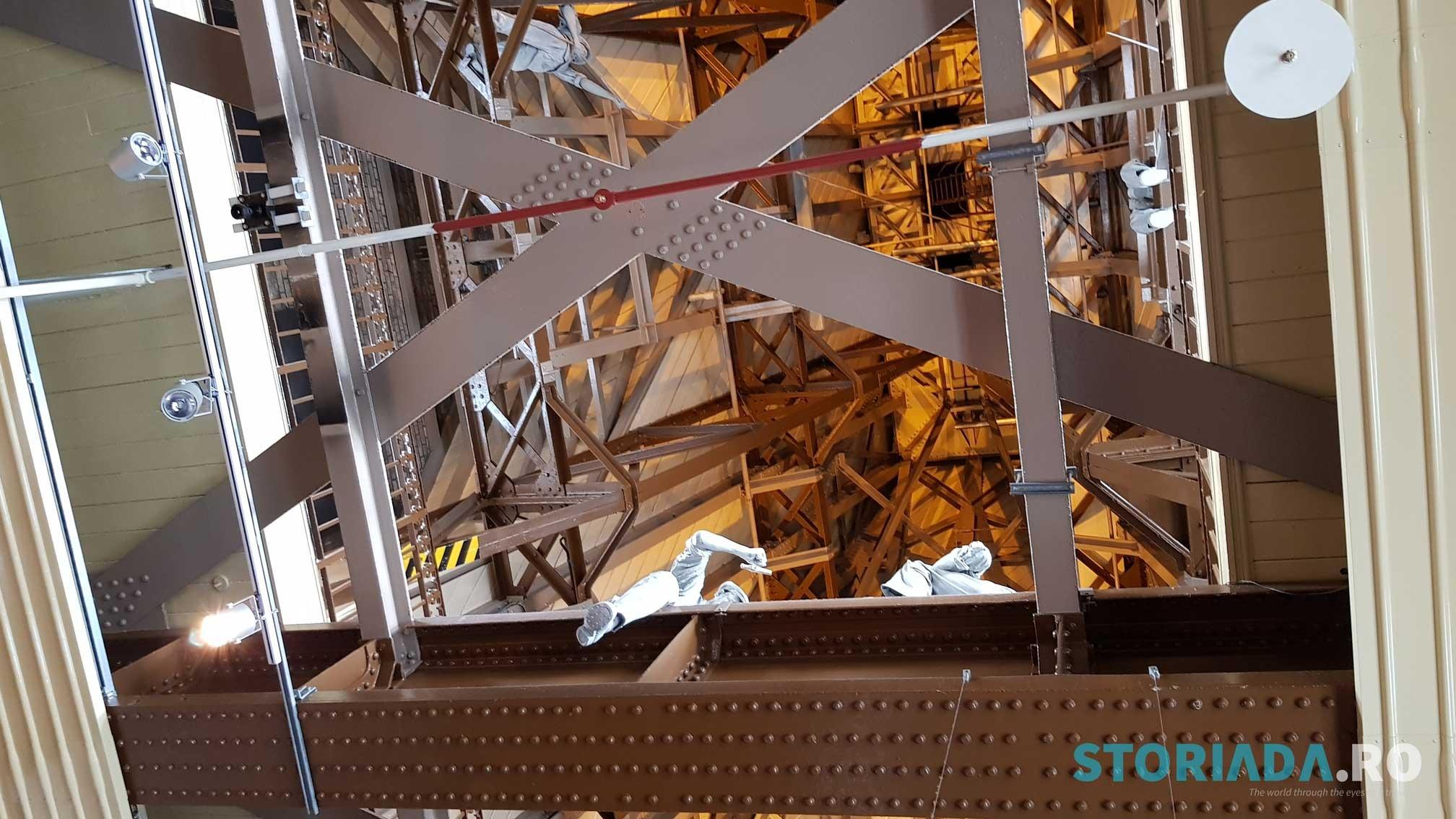 Reproducerea muncitorilor din Tower Bridge