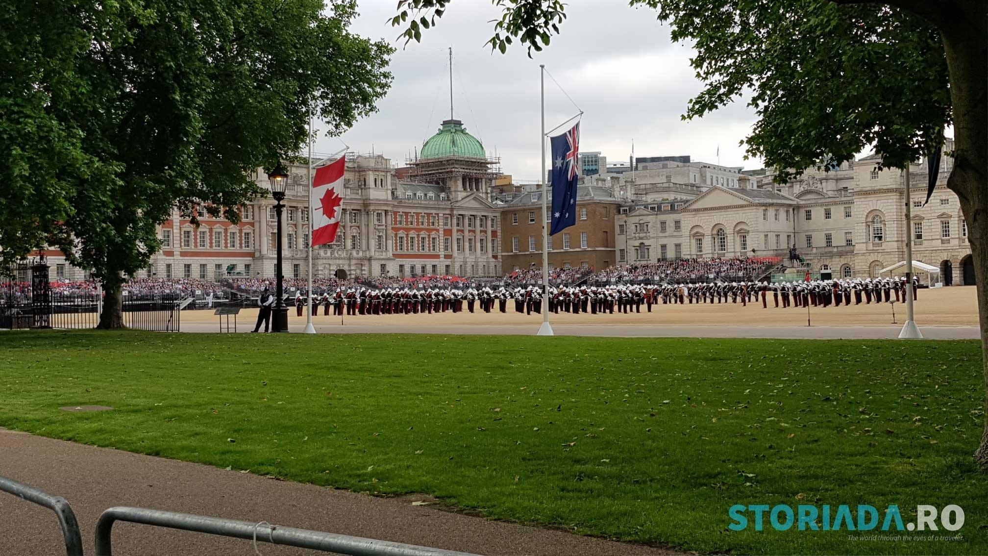 The British Royal Army, Marine Army Parade