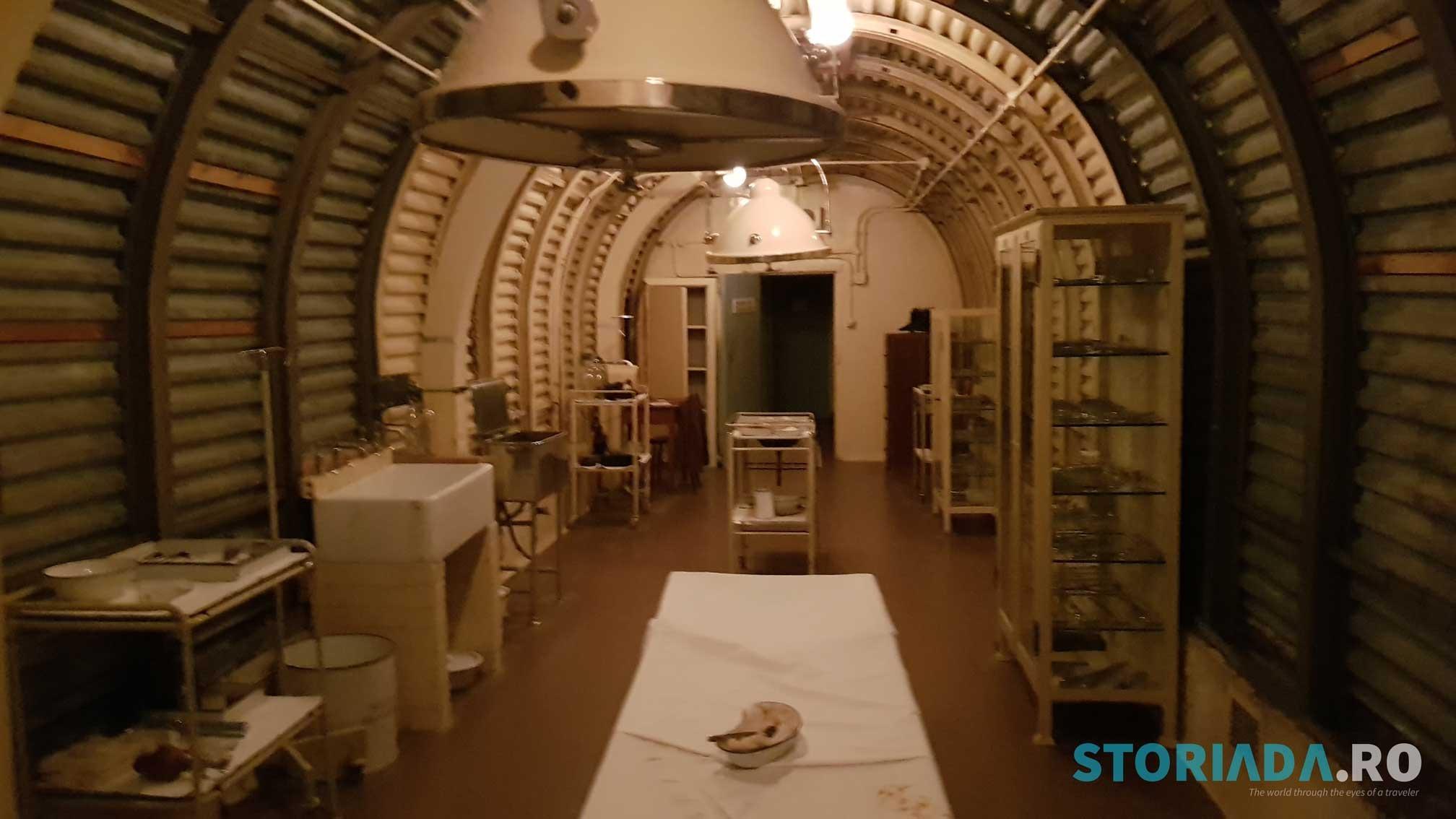 Castelul Dover, tunelele infirmierie