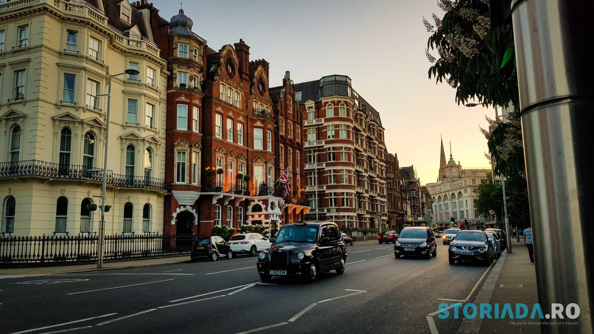 Un autentic apus londonez