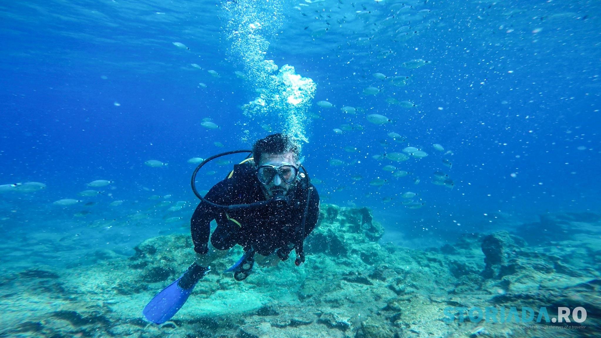 Scuba diving Cipru