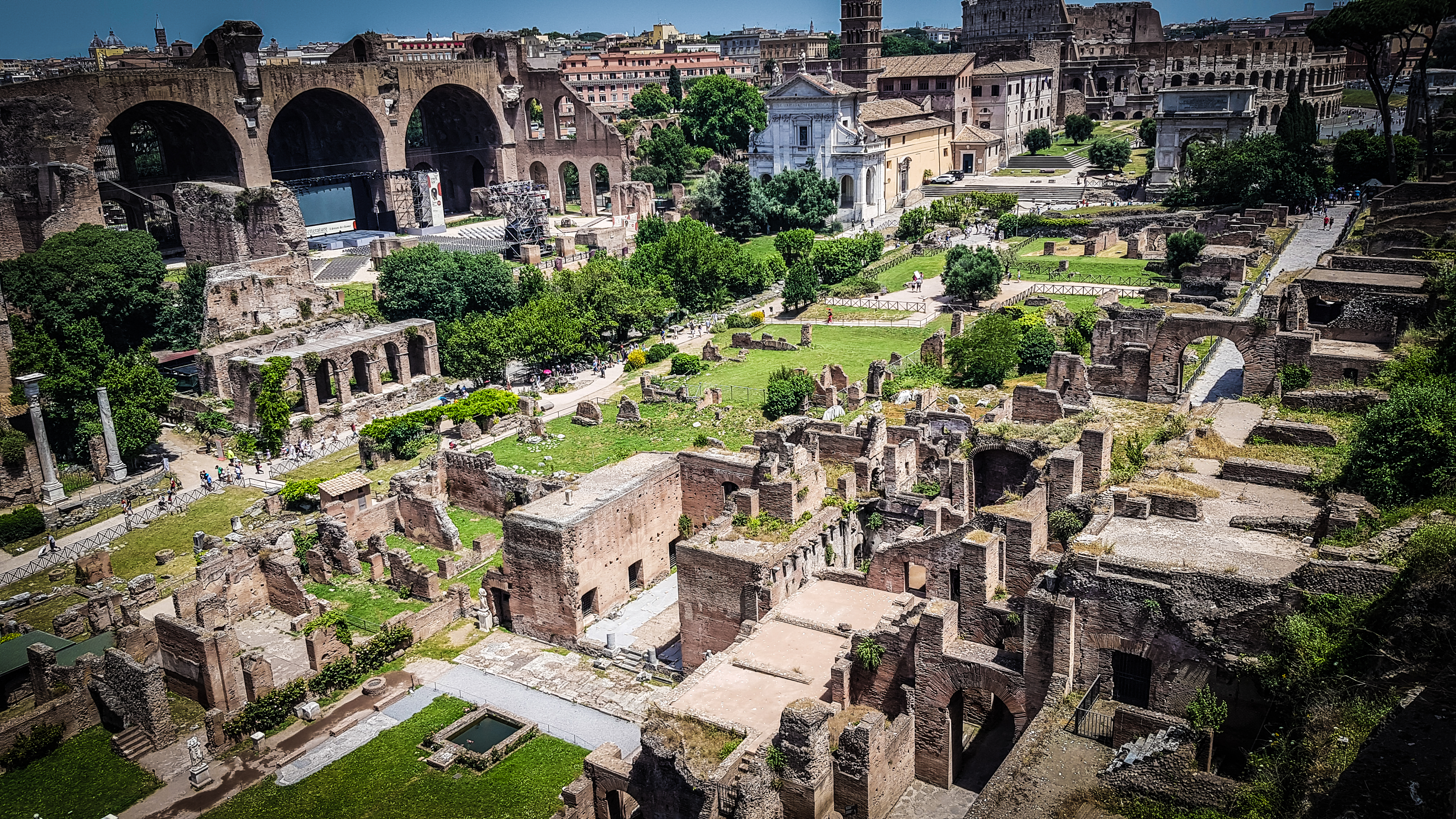 Ruinele romane (Italia)