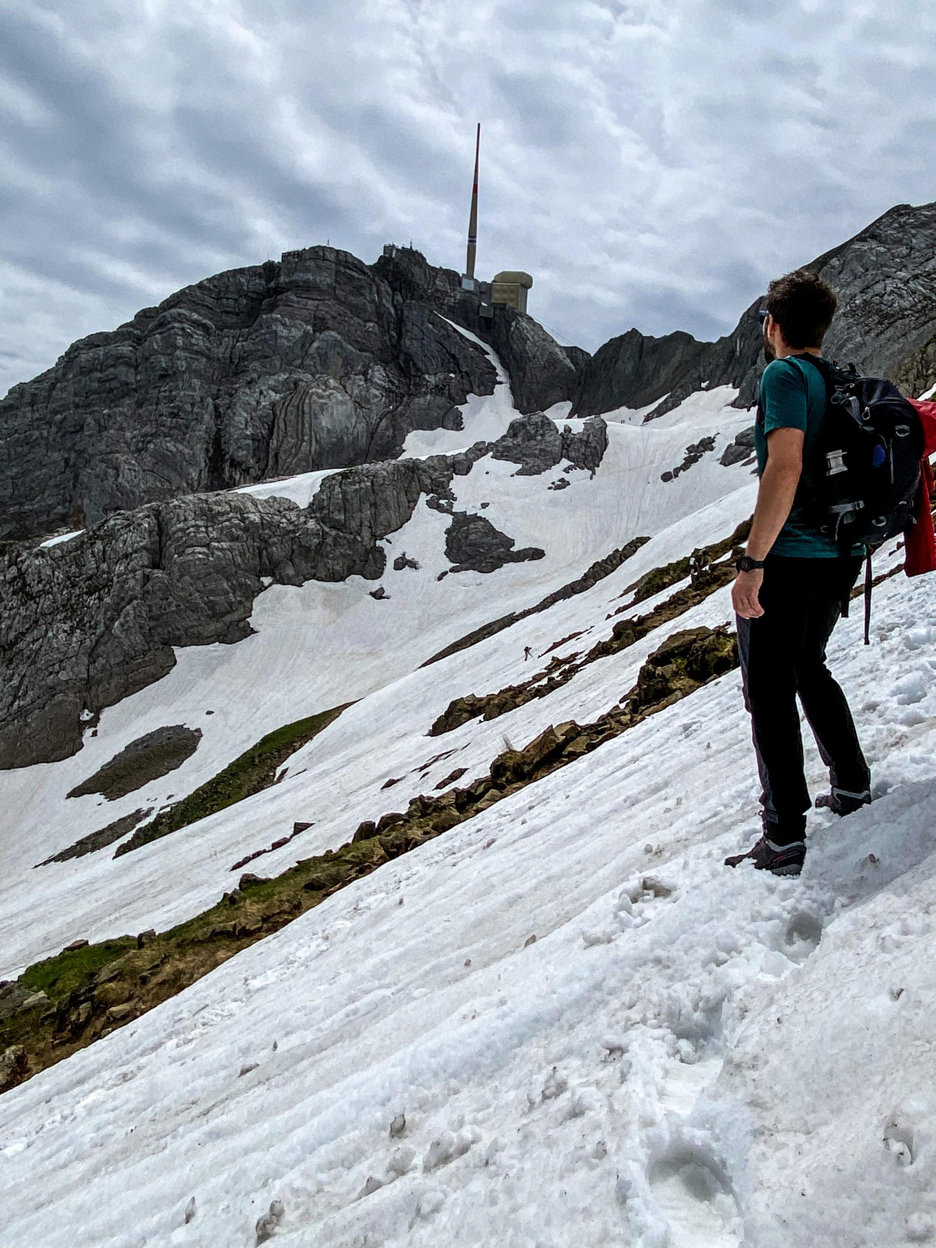 Hiking Santis Elveția